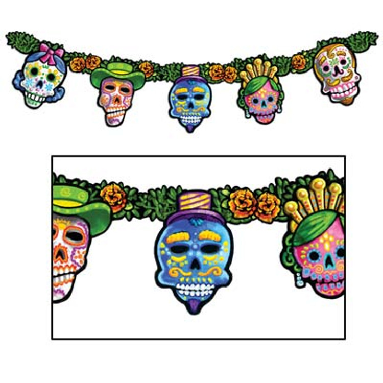 Day of the Dead Streamer