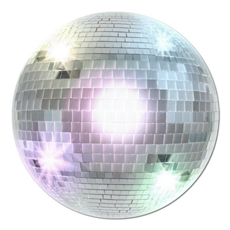 70's Mirror Ball Cut Out
