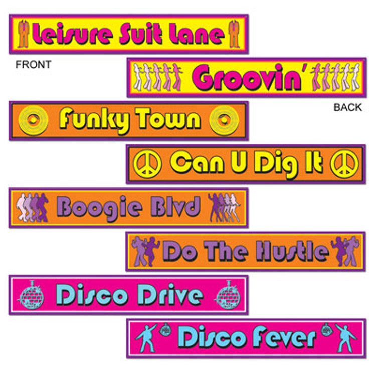 Disco Street Signs