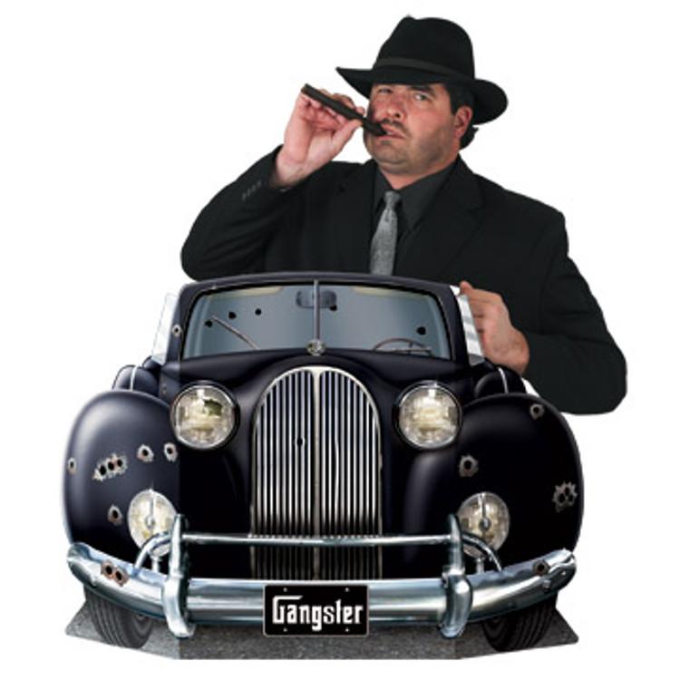 Gangster Car Photo Prop