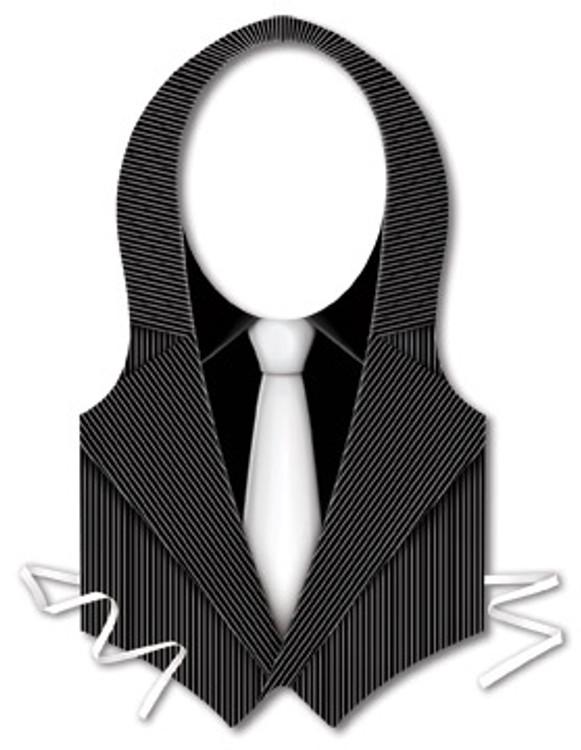 Gangster Vest Plastic