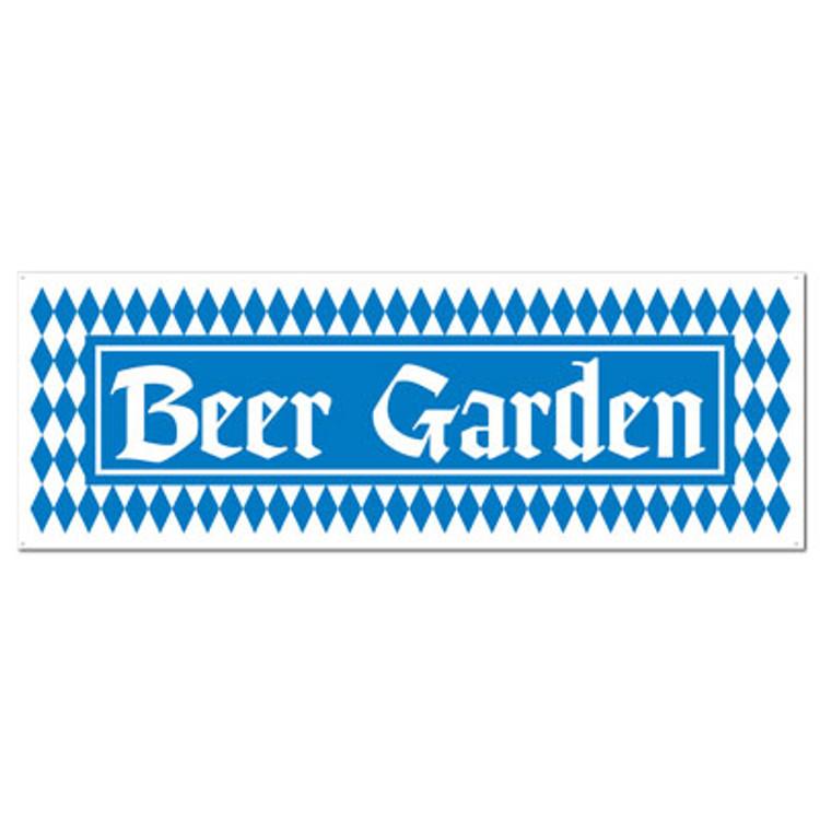 German Beer Garden Banner
