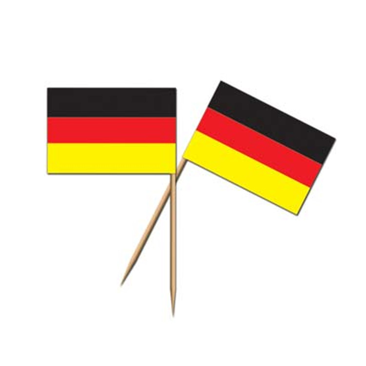 German Flag Toothpicks