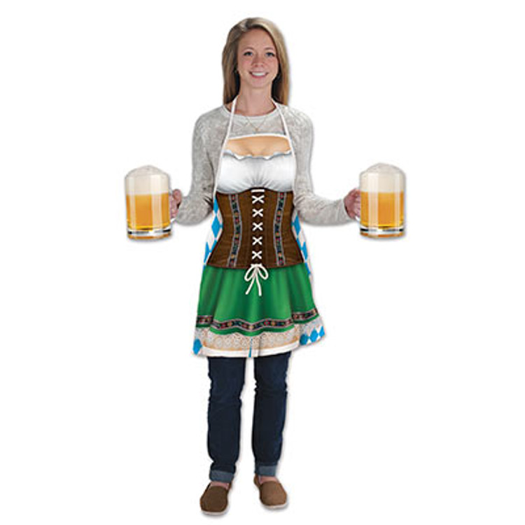 German Oktoberfest Fraulein Apron
