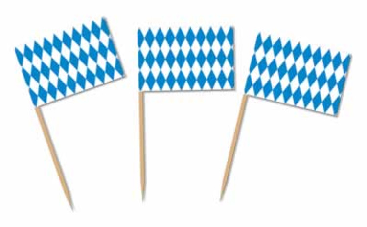 German Oktoberfest Tooth Picks