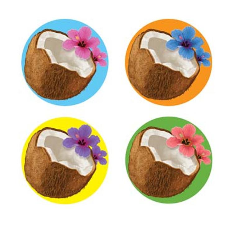 Coconut Drink Coasters
