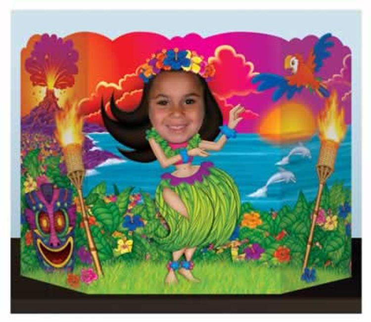 Hula Girl Photo Prop