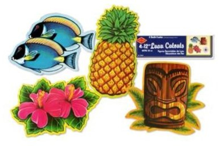 Luau Cut Outs