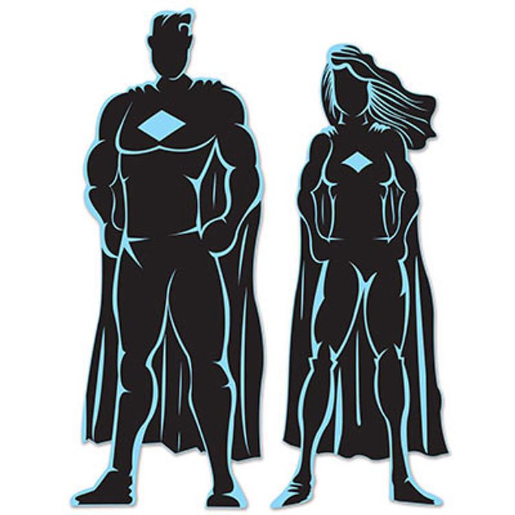 Hero Silhouettes