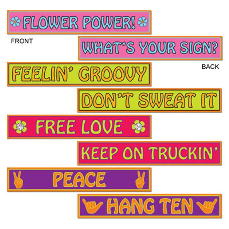 Hippie Street Signs