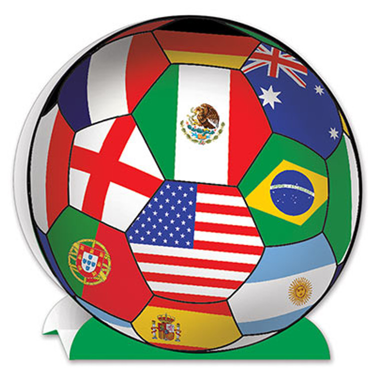 Soccer Ball Centrepiece International