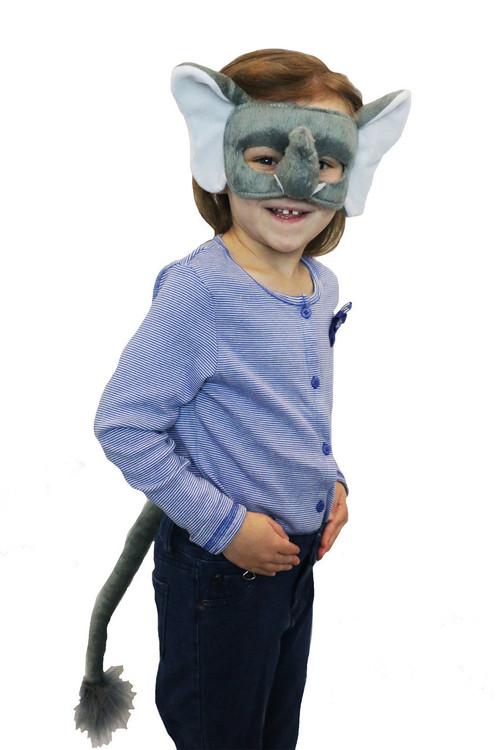 Elephant Mask & Tail Set