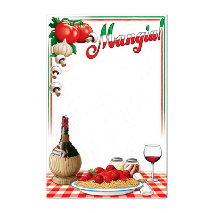 Italian Menu Board