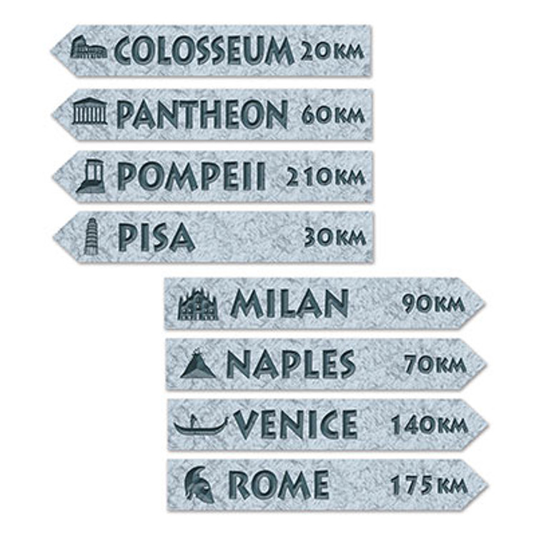 Italian Street Signs