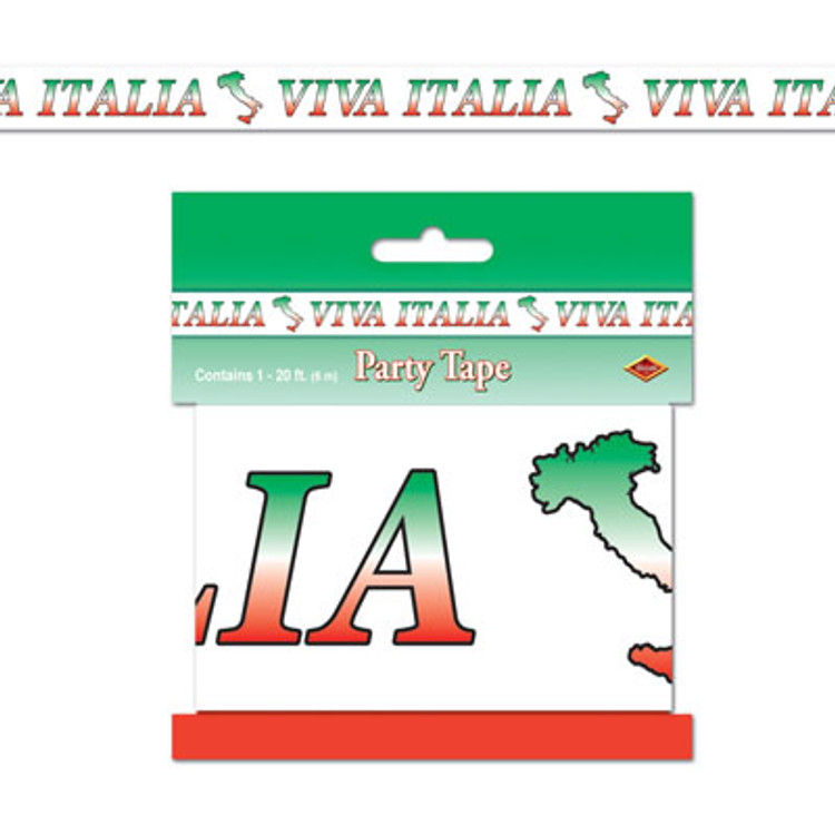 Italian Viva Itailia Party Tape