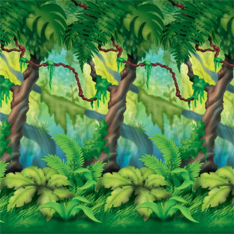 Jungle Back Drop Trees