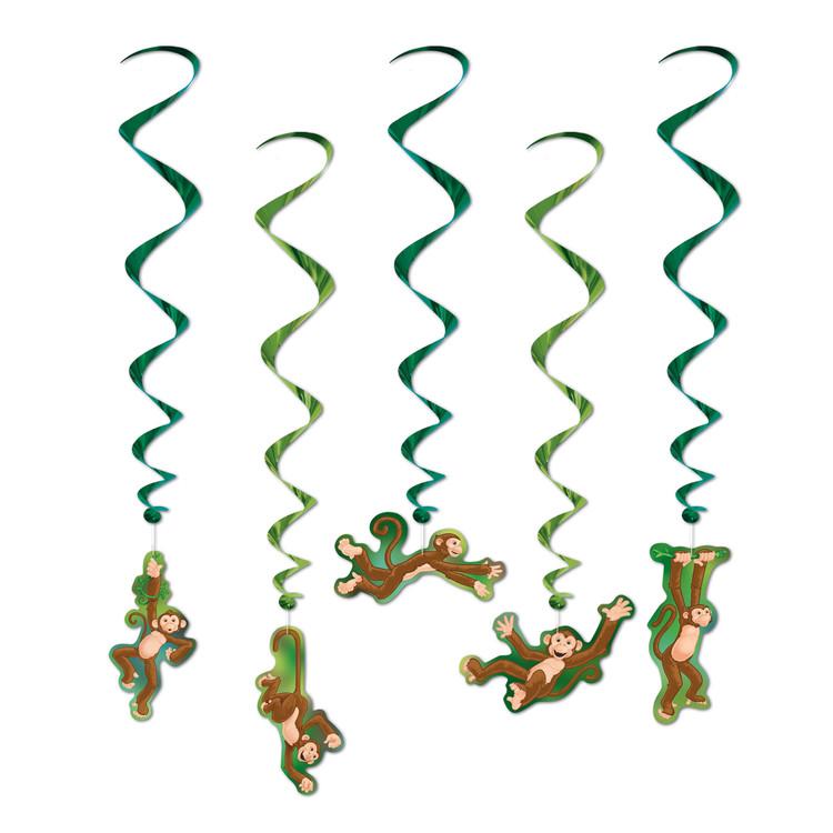 Jungle Monkey Whirls