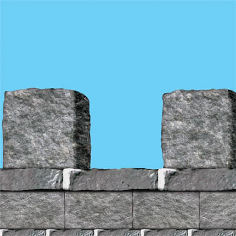 Stone Wall Border