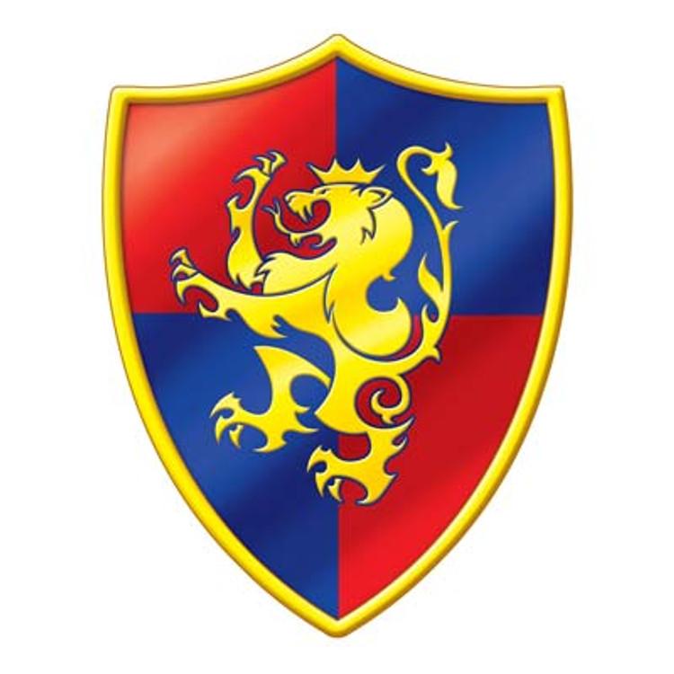 Medieval Crest Cut Out