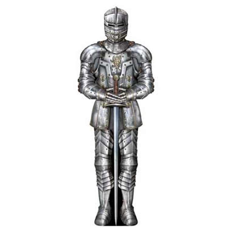 Medieval Suit of Armour Cut Out