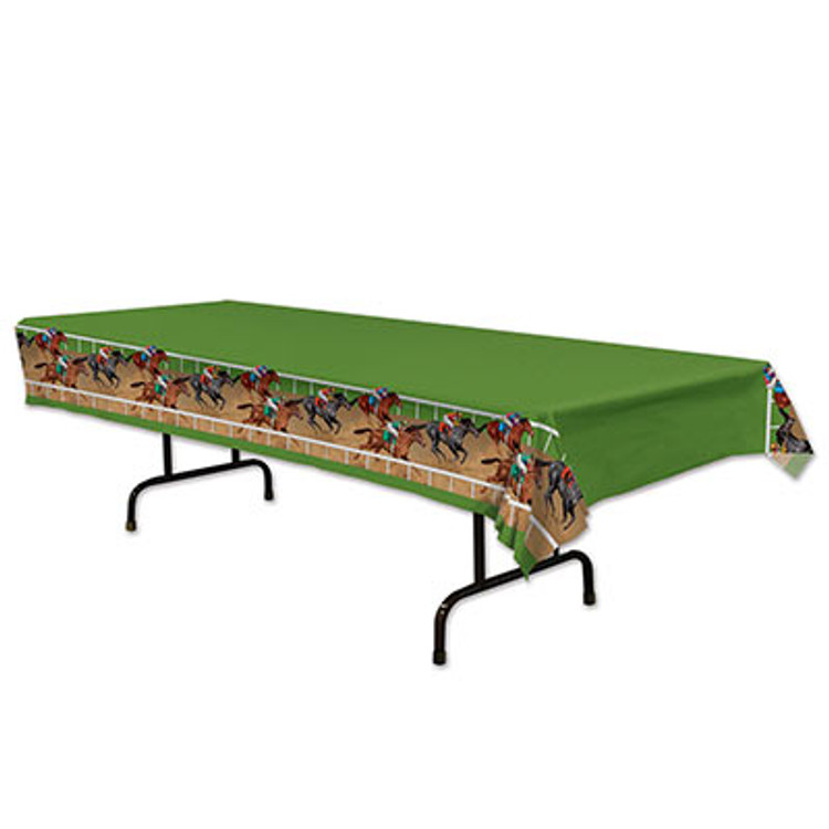 Horse Racing Tablecover Rectangle