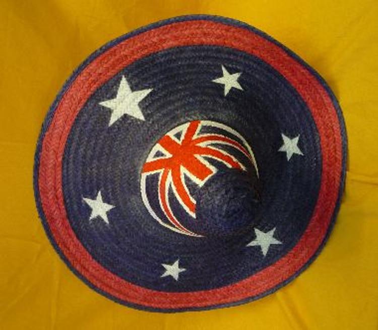 Sombrero Mexican Hat - Australian Flag