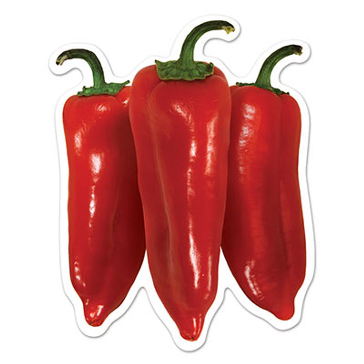Mexican Chilli Cutouts Mini