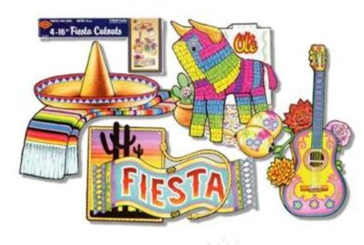 Mexican Fiesta Cut Outs