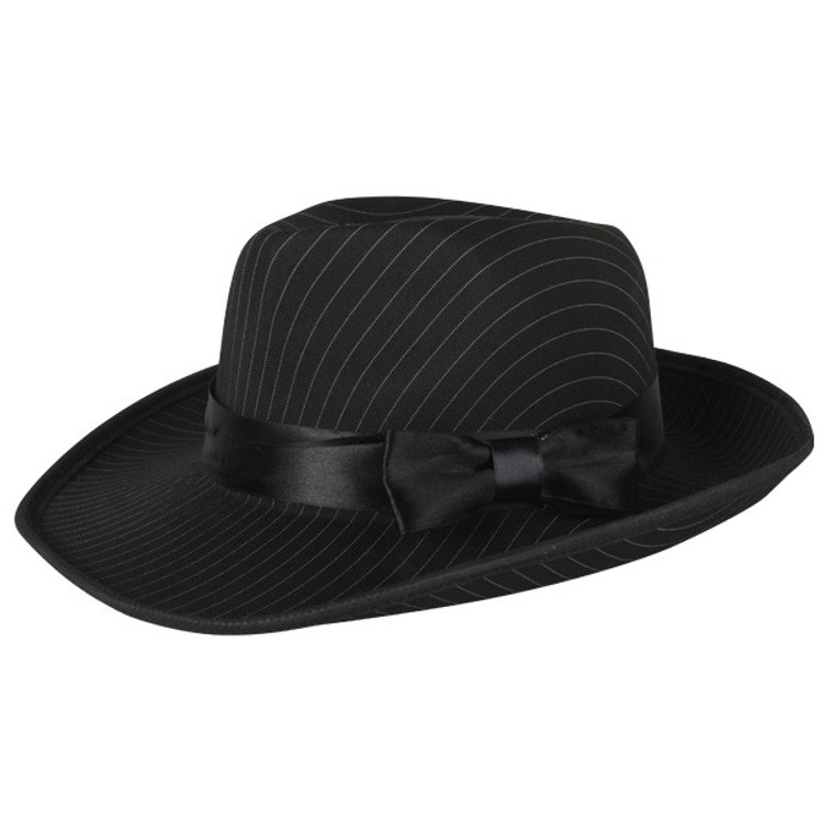 Fedora - Gangster Pinstripe Hat