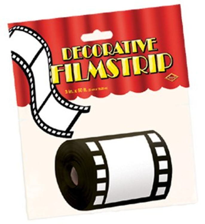 Movie Film Decorative Strip