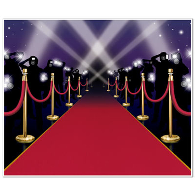 Movie Mural Red Carpet