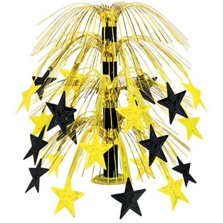 Movie Star Cascade Centrepeice Gold