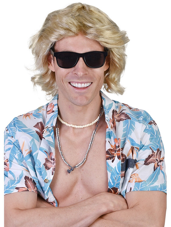 Surfer Mick Blonde Wig