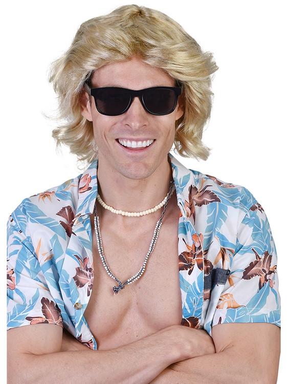 Surfer Mick Blonde Wig