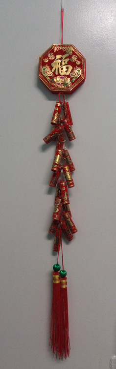 Chinese Decorative Fire Cracker Garland