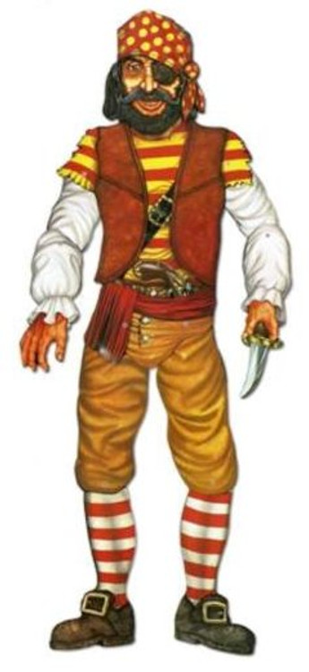 Pirate Jointed Cut Out