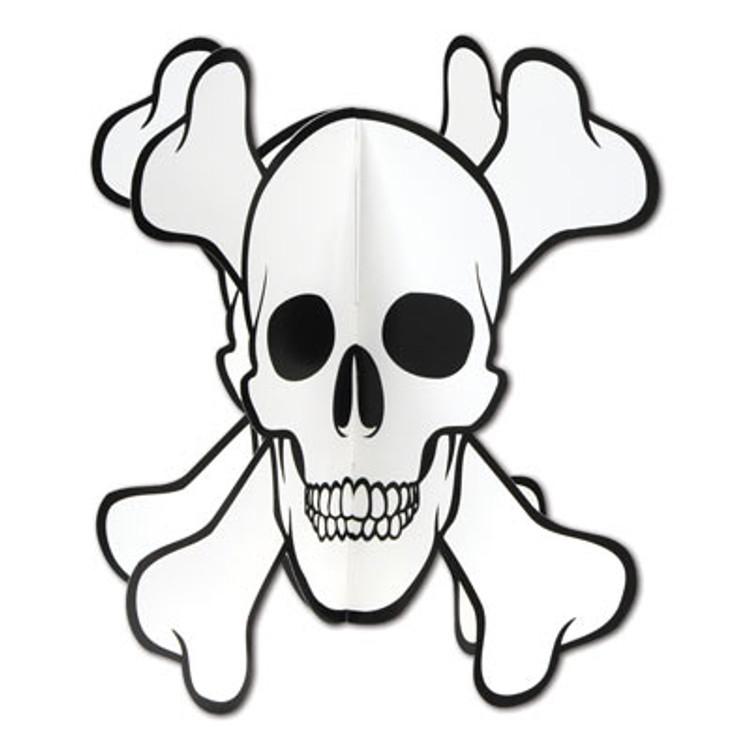 Pirate Skull & Crossbones Centerpiece
