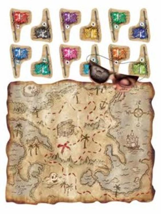 Pirate Treasure Map Game