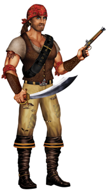 Swashbuckler Jointed Cutout