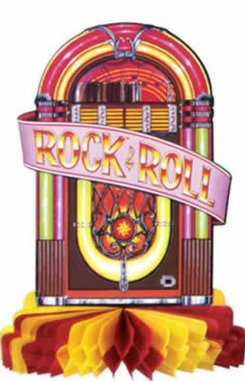 Rock & Roll Juke Box Centre Piece