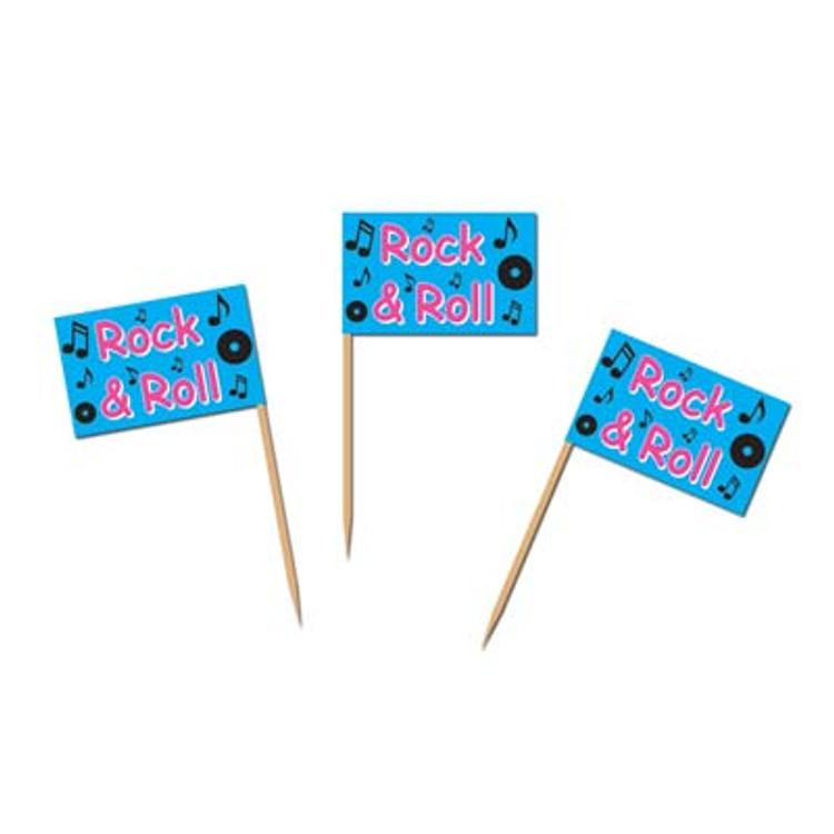 Rock & Roll Toothpicks