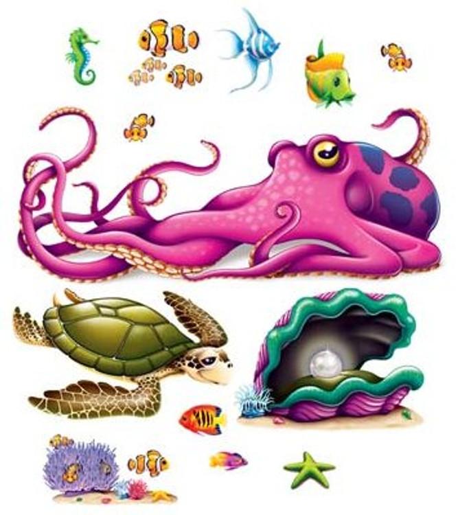 Sea Creature Props