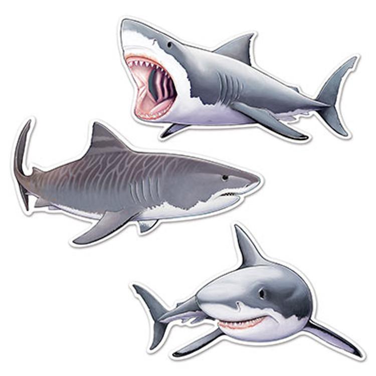 Shark Cutouts