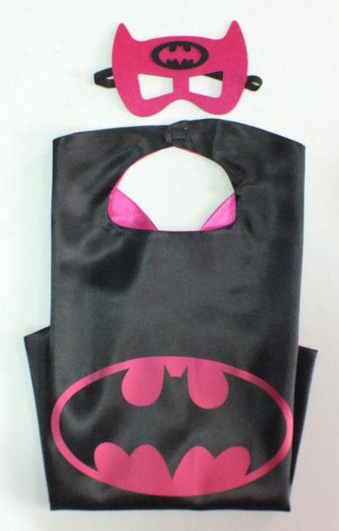 Batgirl Superhero Cape & Mask