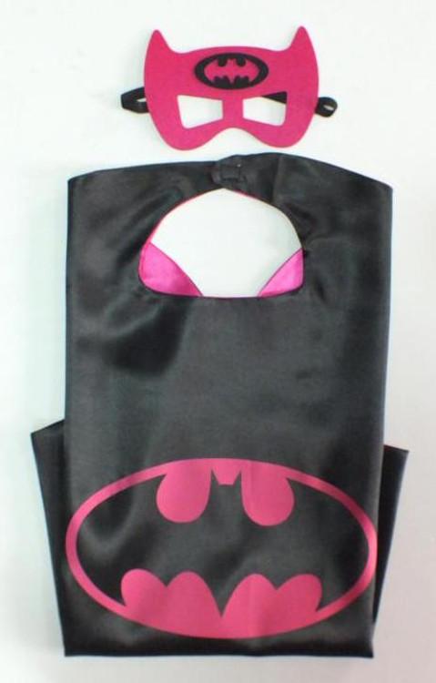 Batgirl Superhero Cape & Mask