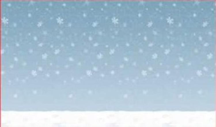 Winter Sky Back Drop