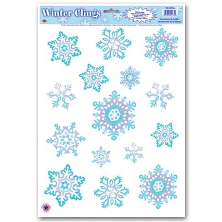Snowflake Clings Crystal