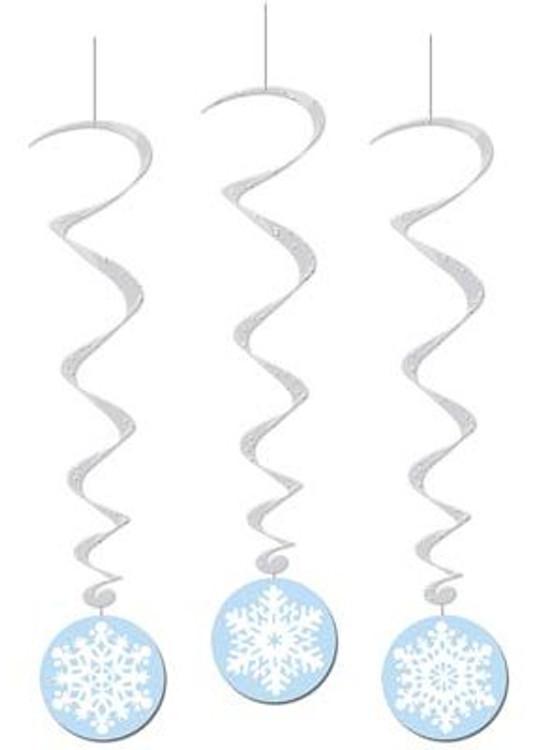 Snowflake Whirls