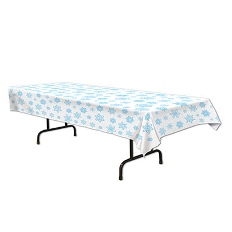 Tablecover - Rectangle Snowflakes