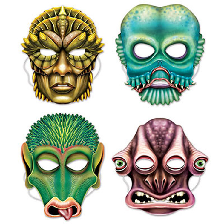 Space Alien Masks